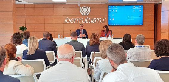 Sesión informativa de Ibermutua en Alicante
