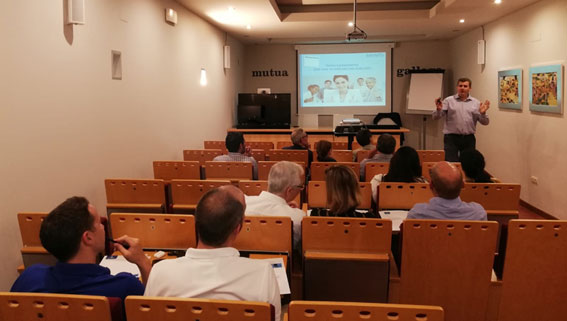 Sesiones informativas de Ibermutua