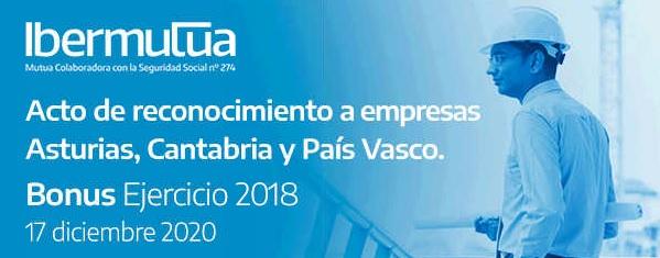 Acto de reconocimiento a empresas asturianas, cántabras y vascas
