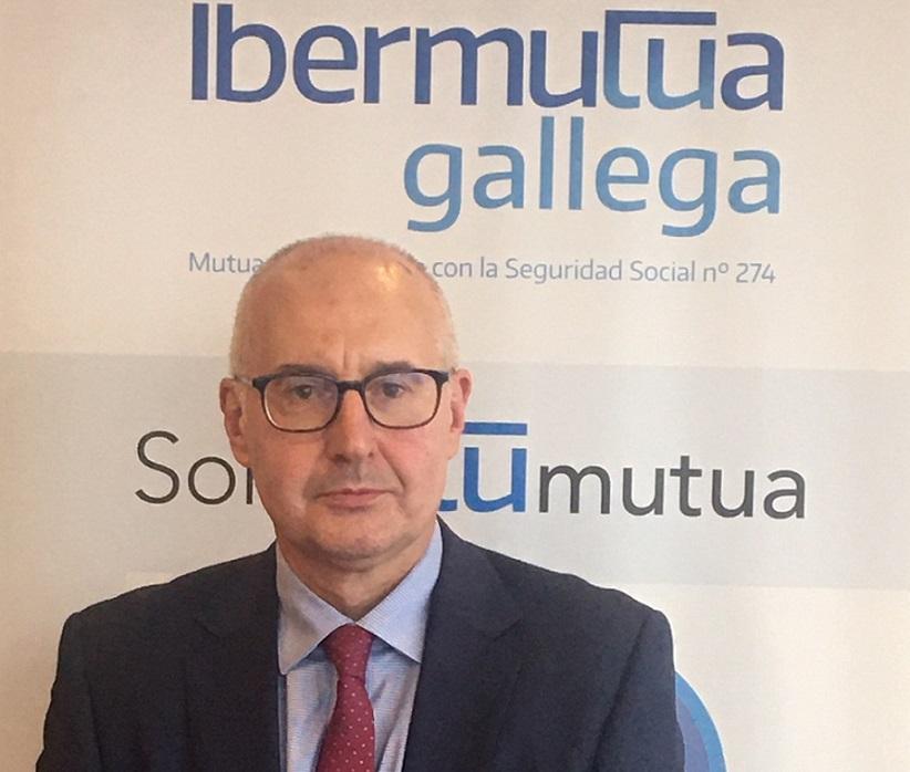 Javier Florez director de Ibermutua gallega
